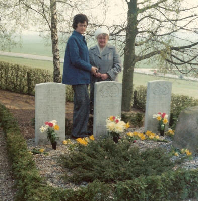 Jack White`s Mother and Sister at Gl. Rye Churchyard